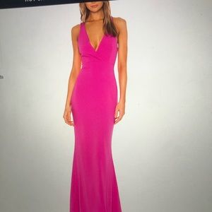 Lovers + friends brand new prom gown